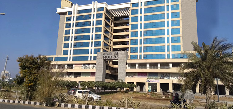 ansal hub 83 commercial projects
