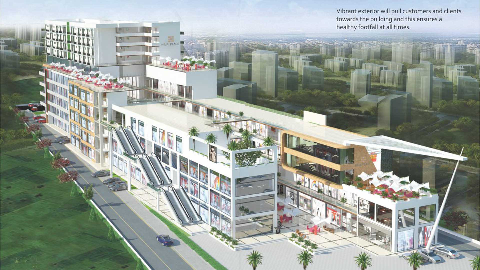 nimai place sector 114 -Commercial Retail shops